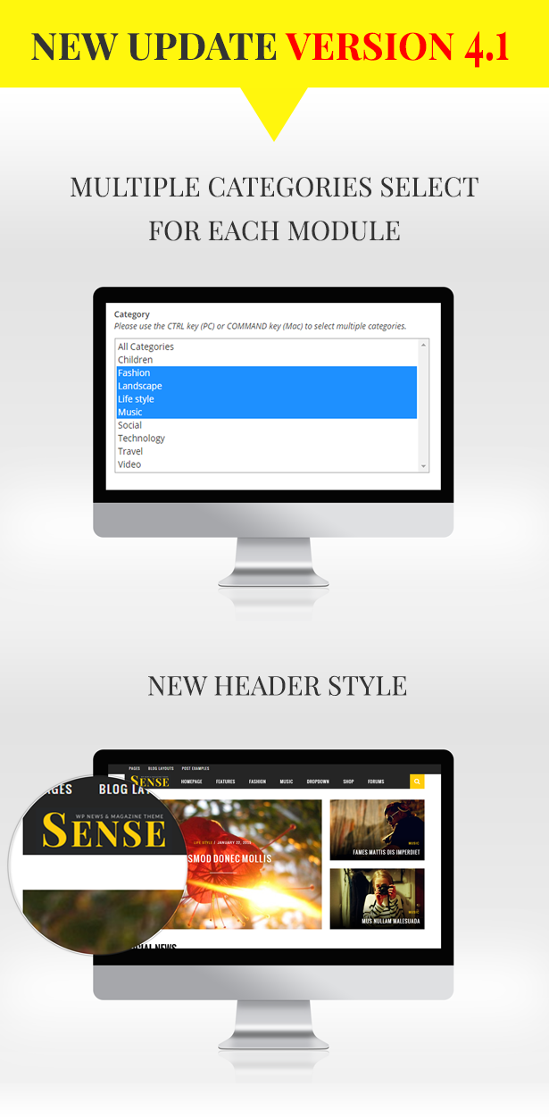 Sense - Responsive Blog Magazine and News Theme - 1